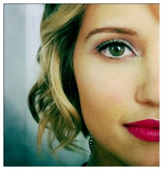 : Make Up, Dianna Agron, Makeup, Beautiful, Red Lips, Hazel Eye, Hot Pink Lips, Agron Tough, Lips Colors