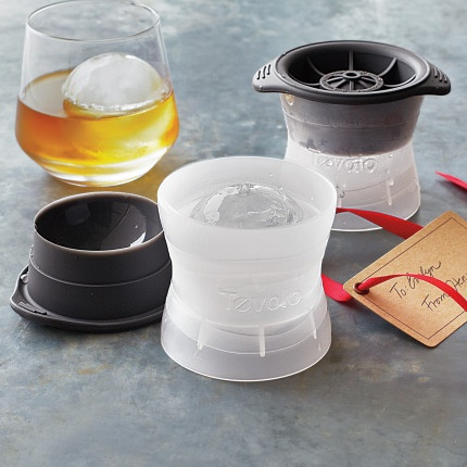sphere ice molds - perfect for the scotch drinkers in my life