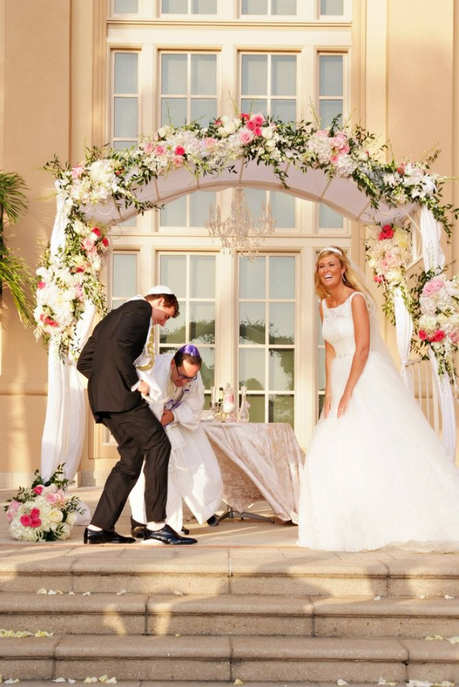 The Jewish Tradition Of Breaking Glass Found On Modern Wedding Blog
