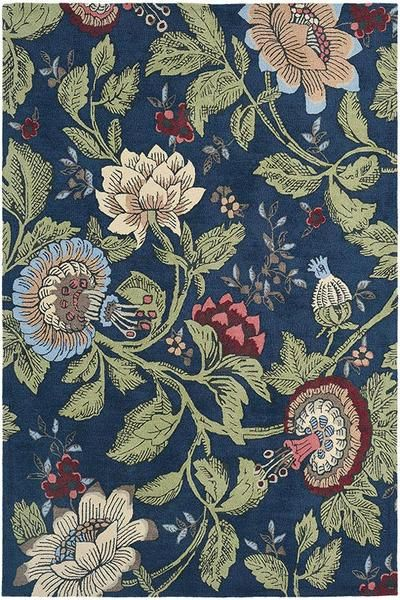 This beautiful floral rug will add the perfect touch of nature to your home: Wedgwood Passion Flower Navy Designer Rug https://www.rugsofbeauty.com.au/collections/wedgwood/products/wedgwood-passion-flower-navy-designer-rug?utm_content=buffer91cb9&utm_medium=social&utm_source=pinterest.com&utm_campaign=buffer