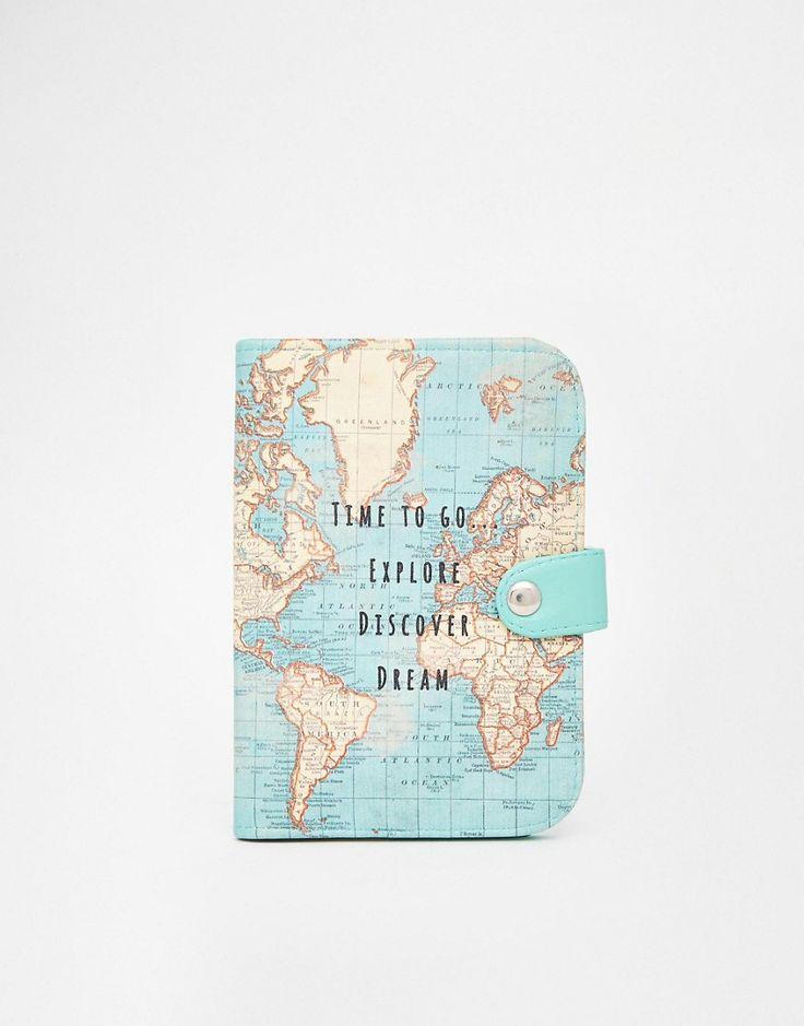 Imagen 1 de Funda para pasaporte Time To Explore de Sass & Belle