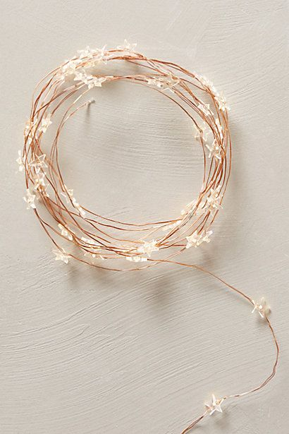 Constellation LED String Lights - anthropologie.com