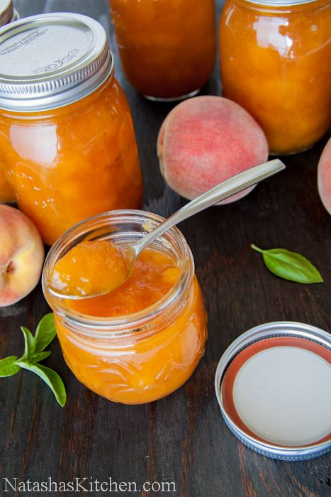Country Peach Preserves -try this one *** so good & easy! used bamix to make smaller pieces
