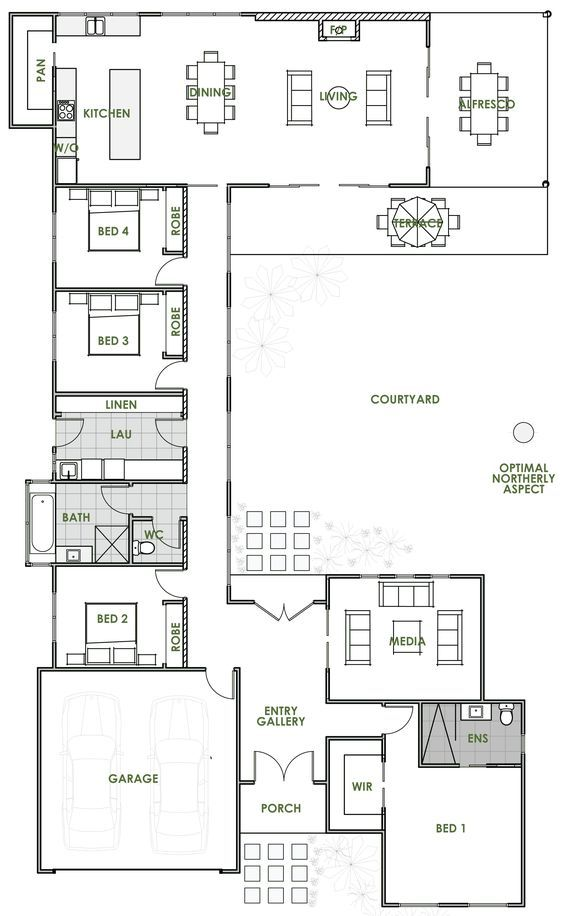 Best 25+ Architectural floor plans ideas on Pinterest | Hothouse ...