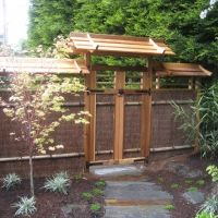 Japanese Garden Fence Design 1000 images about trellis fence designs on pinterest wooden within japanese garden fence Japanese Fence