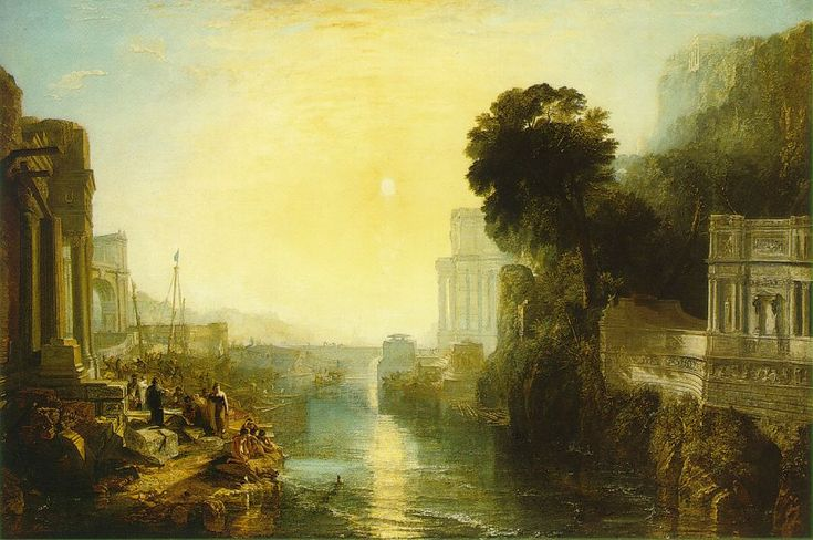 Turner. Dido building Carthage; or the Rise of the Carthaginian Empire   1815