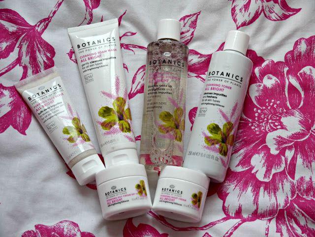 Botanics All Bright Range // Skincare Review #Blogger #Skincare x