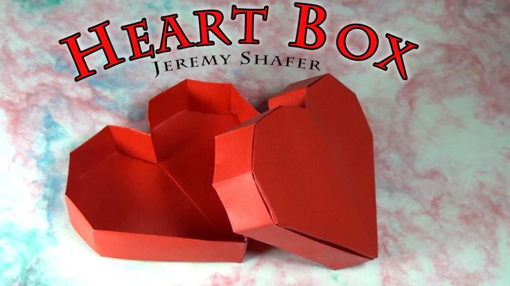 Tutorial for how to fold an origami Heart Box designed by Jeremy Shafer. For a clearer, more in depth tutorial for this model click here: http://youtu.be/ejn...
