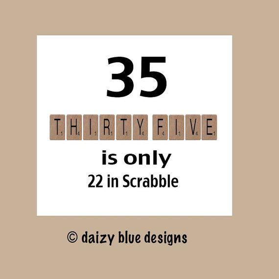Scrabble Card Idea