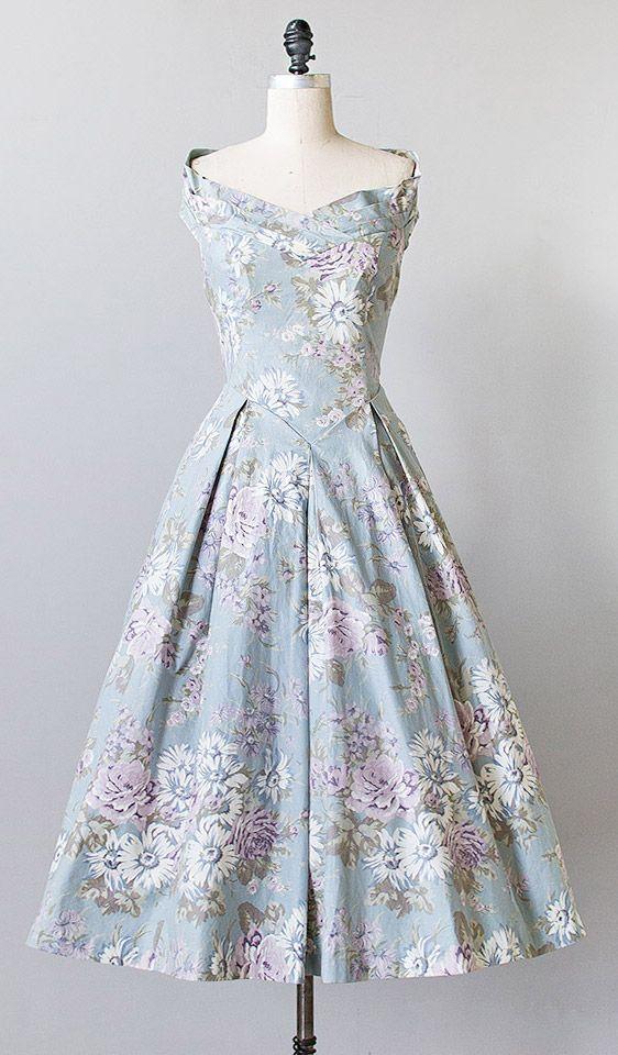 vintage 1980s Laura Ashley floral dress | #vintagedress #vintage #floral