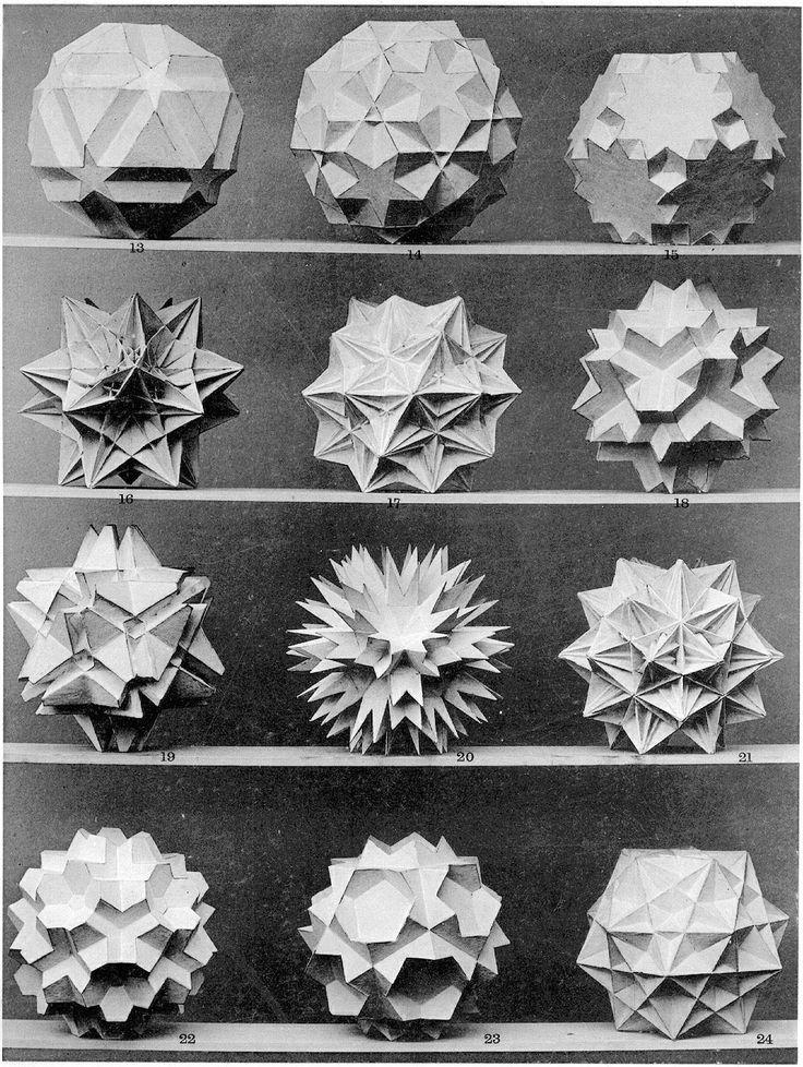 On the shelves - Platonic solids