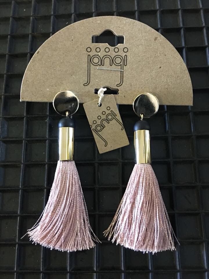 These tassled earrings have tickled us pink #JangiAccessories