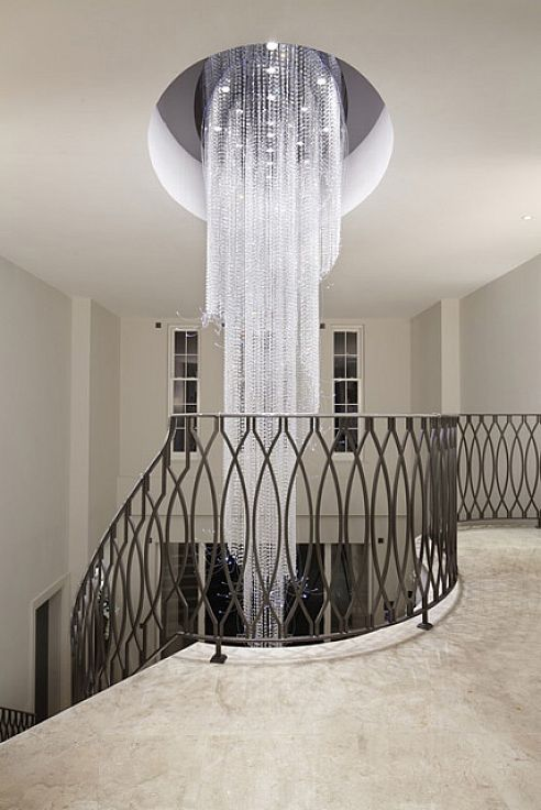 Crystal Chandelier Produced For London Based Property Developer Consero Homes A New Build On The Prestigious St George S Hill Estate Near Guildford