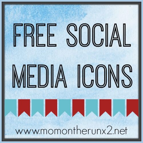 Free Placid Blue #SocialMedia Icons to jazz up your blog or website from Mini Van Dreams