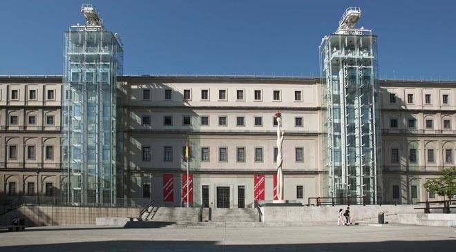 Edificio Sabatini, Madrid, Museo Nacional Centro de Arte Reina Sofía