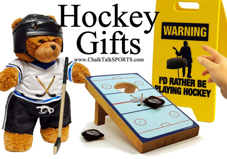 Exclusive hockey gifts from Chalk Talk Sports. See all our hockey ideas on our website!