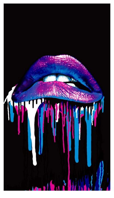 Psychedelic Peace Lip wallpaper, Rocky horror picture