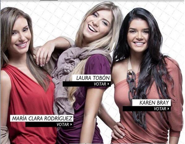 Ellas tres fueron las finalistas de Chica E! Colombia en el 2011. ¿Estás lista?