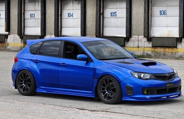 subaru impreza hatchback 2.5 wrx 5dr review
