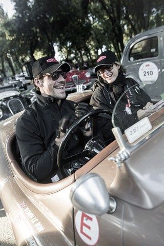 David Gandy - The Mille Miglia - One of the greatest adventures of my life (Vogue.co.uk)
