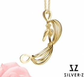 - sødt smykke til den nybagte mor i sølv eller guld.    Årets sødeste smykker til den nybagte mor fra SilverZ. Serien fås i både sølv og guld.