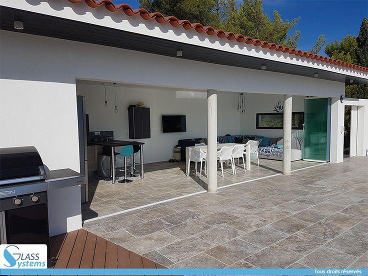 Fermer une terrasse affordable amazing abri terrasse - Comment fermer une terrasse couverte ...