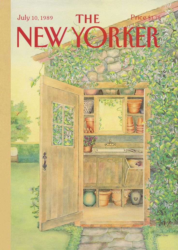 The New Yorker - Monday, July 10, 1989 - Issue # 3360 - Vol. 65 - N° 21 - Cover by : Jenni Oliver
