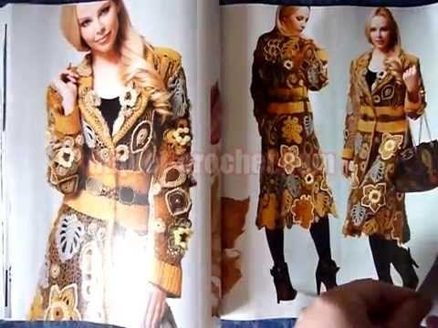 December 2014 Zhurnal MOD 583 Russian crochet patterns from www.duplet-c...