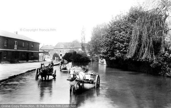 Andover, Town River 1901, from Francis Frith