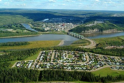 Fort McMurray, Alberta, my hometown.