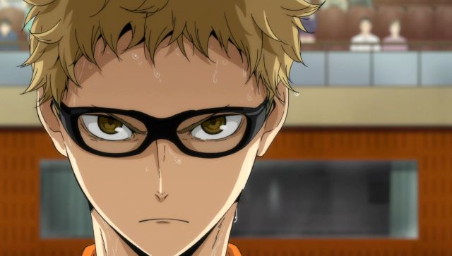 Tsukki is in the game so you better watch out