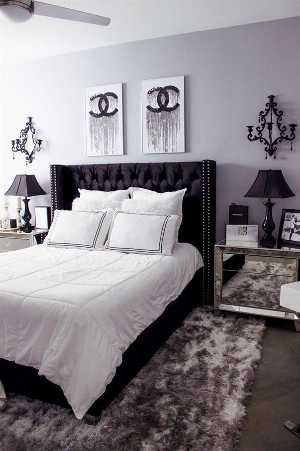 The Stylish Modern Bedroom Furniture Vintage Rustic And Mid Century Bedroom Furniture Sets White Bedroom Decor White Bedroom Design Apartment Bedroom Decor