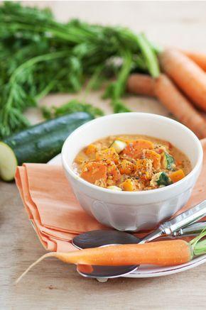 Pflanzliches Eiweiß, viel Gemüse und indische Gewürze - passt perfekt!