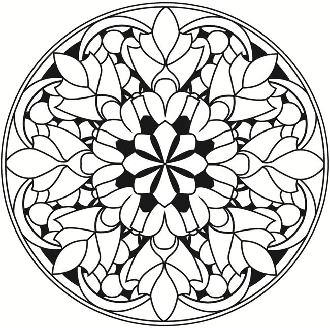 42 Best Ornament Geometry Images On Pinterest Mandala Coloring