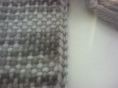 Crochet Uneven Edges : Ravelry post about how to make a crocheted edge to hide uneven edges