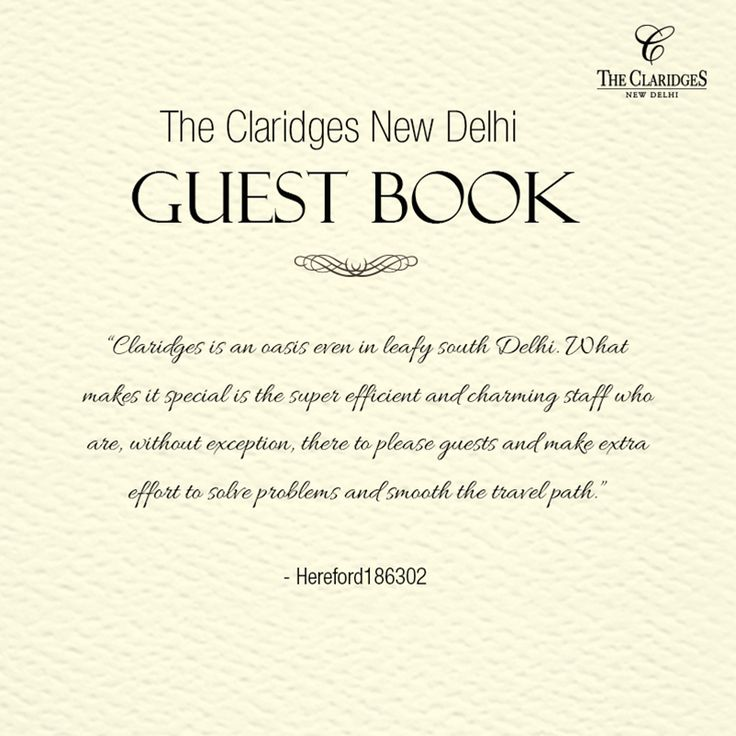 Our guests' encouraging words are our crowning glory! http://bit.ly/1Cv66hn