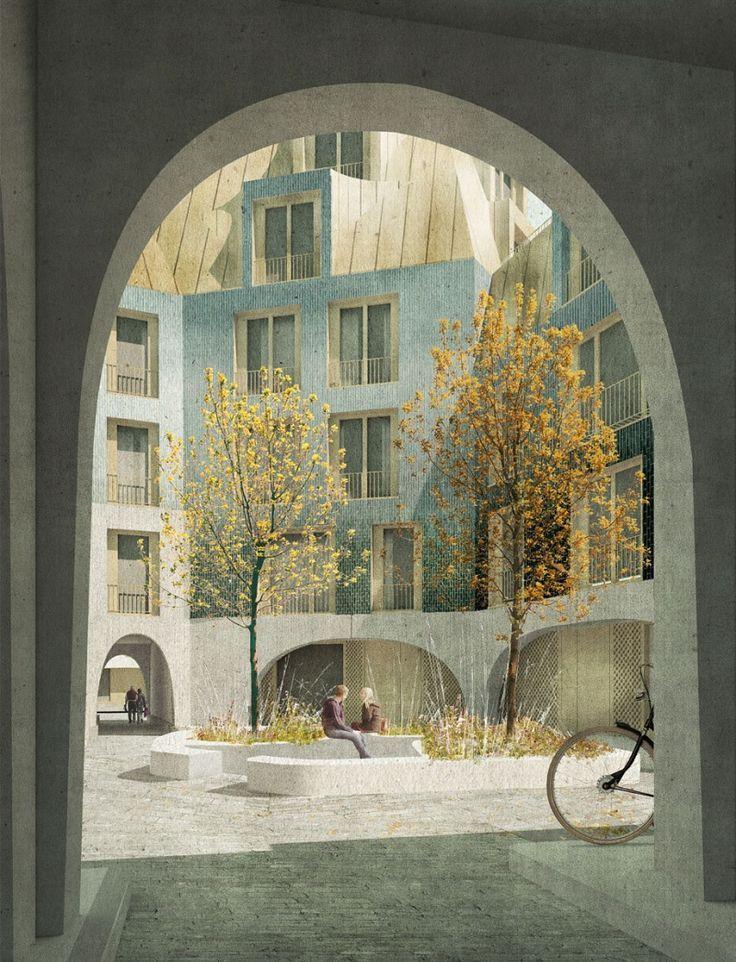 Cabinet d'architecture primé à Londres et à Zurich.