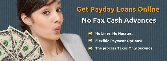 You need money fast and you don't have the time to prepare the documentary requirements for a loan? You could always try out a no fax payday loan