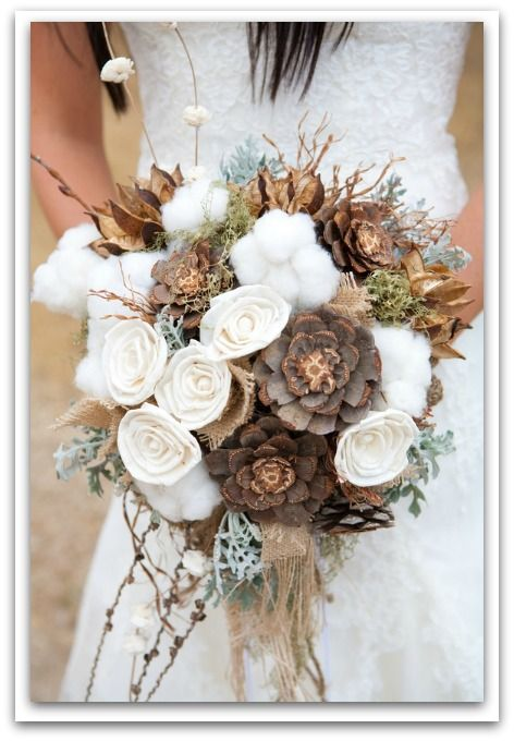 Love this Fall Harvest Wedding Bouquet
