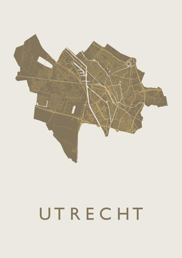 Utrecht – Gold – Map