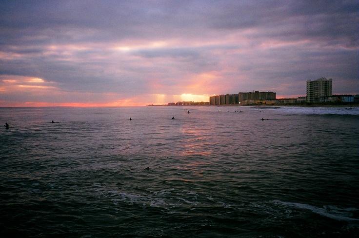 Sunset in Far Rockaway