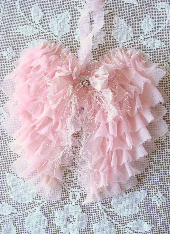 Best 11 Shabby WINGS images on Pinterest | Angel wings wall decor ...