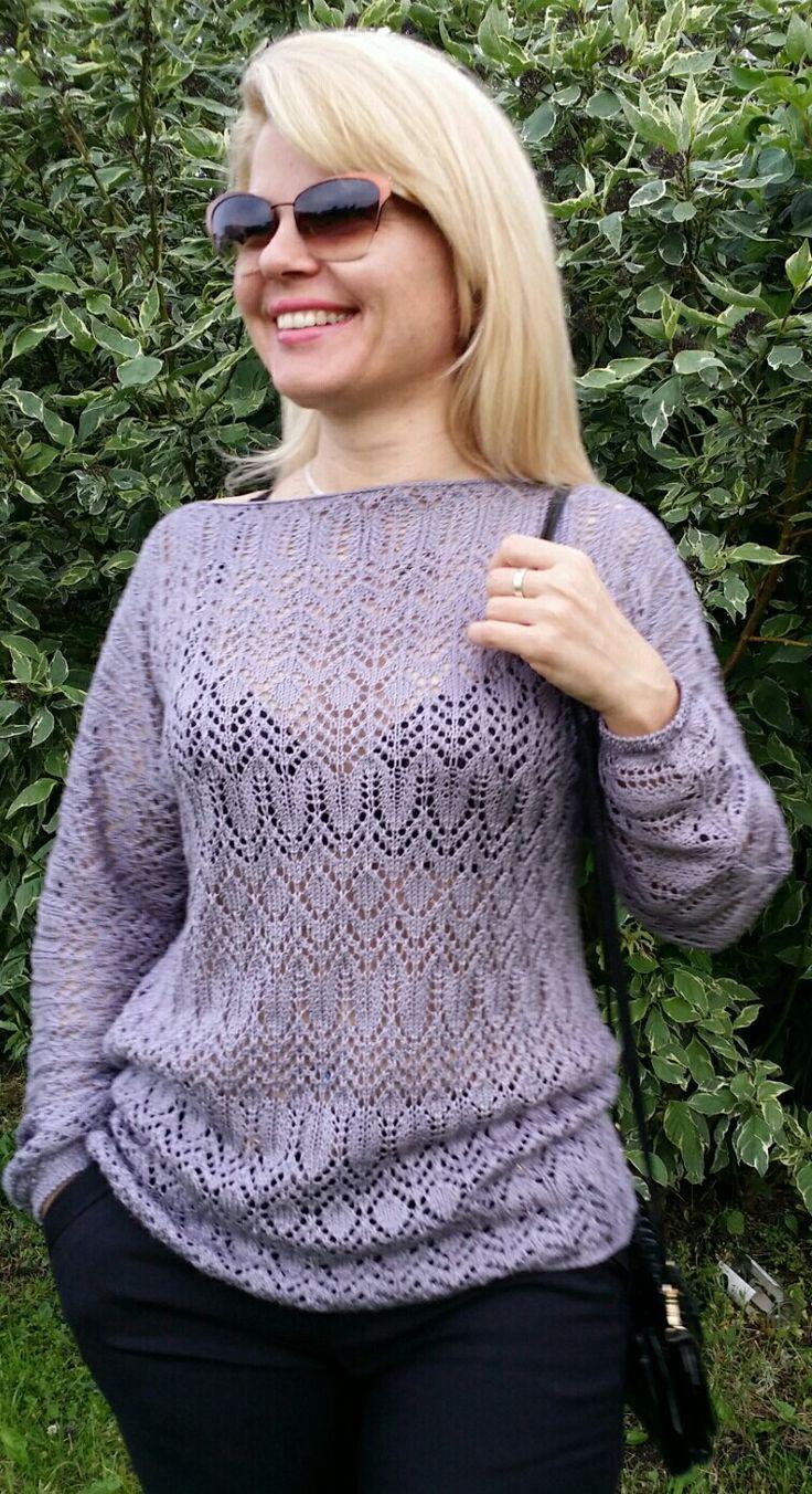 Летний пуловер Автор Анжелика Шутова