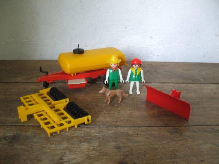 Playmobil vintage, Citerne de tracteur : 1978