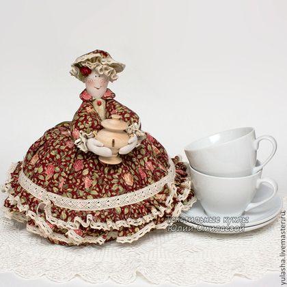 Грелка на чайник. подарки на 8 марта любимым маме подруге коллеге. красивые подарки на новоселье.Текстиль для дома Текстиль для дома и интерьера. Уютные подарки в дом. Омилаева Юлия