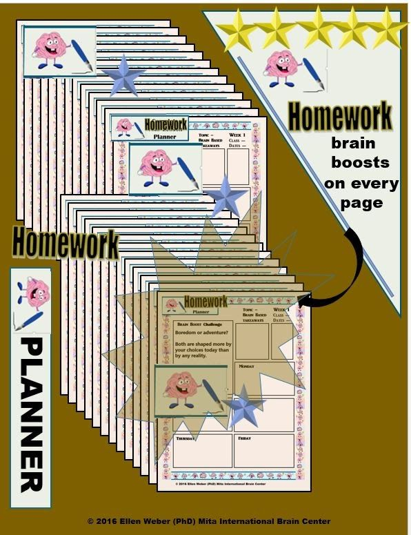 Homework Planner with Brain Boost Quotes   Video  https://www.teacherspayteachers.com/Product/Yearly-Homework-Planner-with-Brainy-Quotes-2697767 Organizer your assignments - to improve your grades!