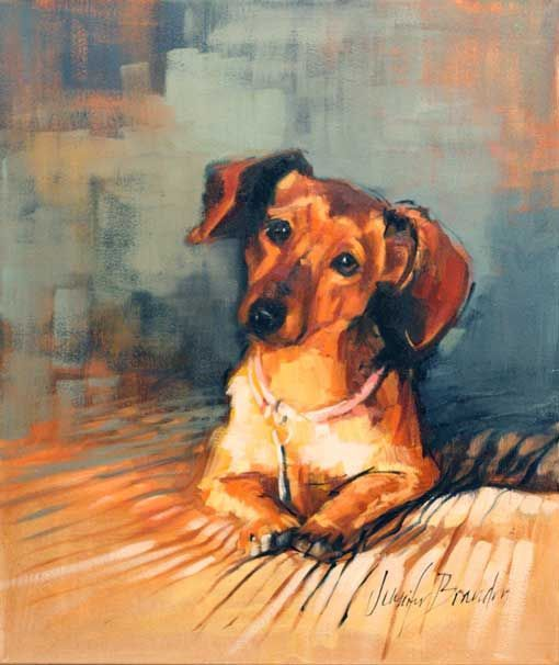 Dachshund Oil Paintings