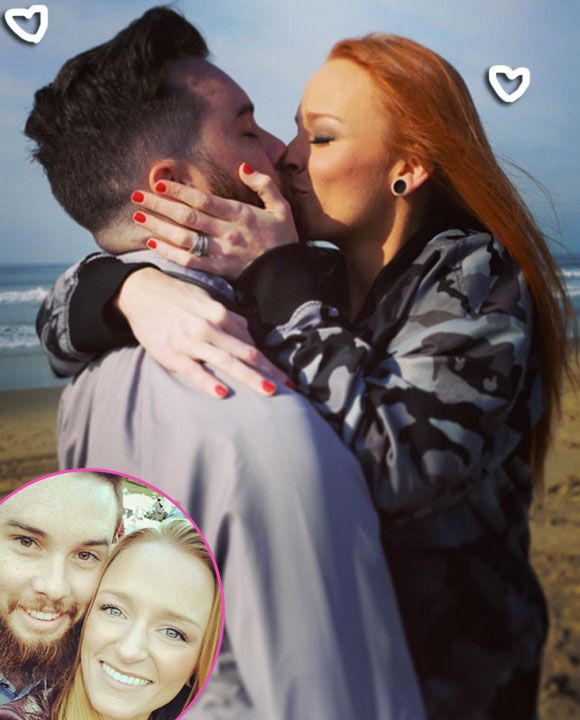 Teen Mom Stars Maci Bookout & Taylor McKinney Are Officially Engaged!