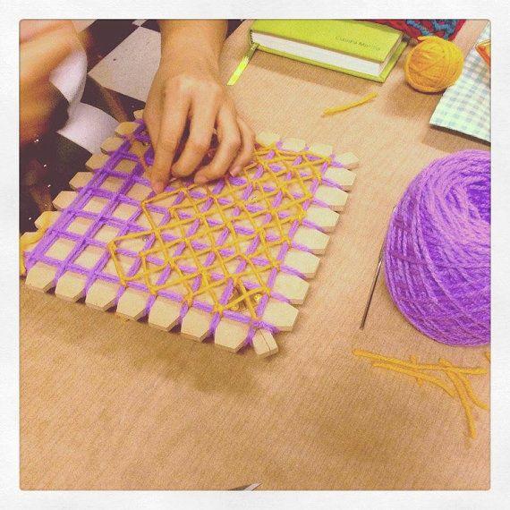 Butterfly Loom kit, Telar Mariposa on Etsy, $20.00