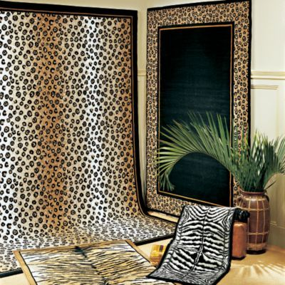 Best 25 animal print rug ideas on pinterest cheetah living rooms z shaped living room and for Leopard print living room ideas